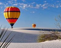 White Sands National Monument Balloon Fiesta, Hot air balloon fiesta Las Cruces NM, Things to see and do in Las Cruces NM