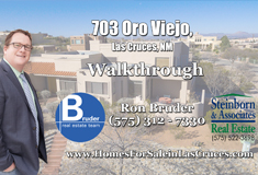 703 Oro Viejo Las Cruces NM, Southwestern Style Home with Mountain Views for sale in Las Cruces NM