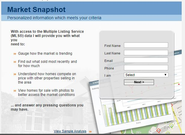 Market Snapshot provides information which meets your SPECIFIC home buying and home selling wants and needs