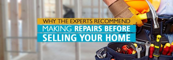 important repairs to make before selling your home