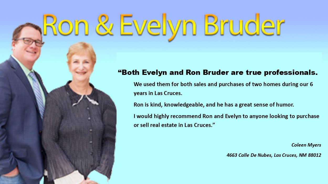 Ron and Evelyn Bruder are true professionals
