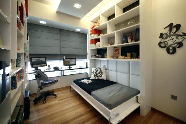 bedroom as a home office