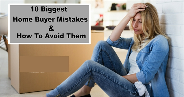 Top 10 home buyer mistakes- image of woman regretting purchase