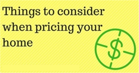 title image things to consider when pricing your home