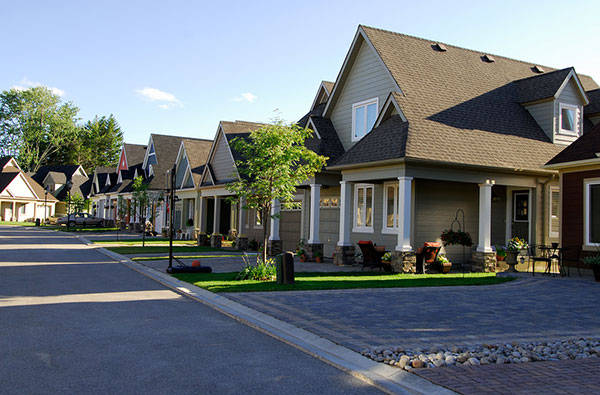 picture of homes in new subdivision