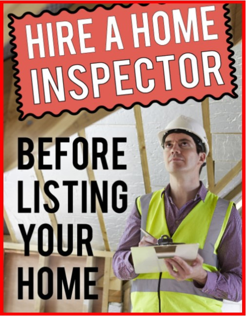 advantage of a pre-listing home inspection