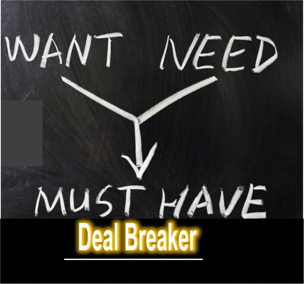 What are Deal Breakers?