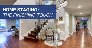Home staging the finishing touches