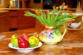 fruit and flowers add warmth style and color