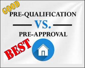 mortgage pre approval and pre qualification